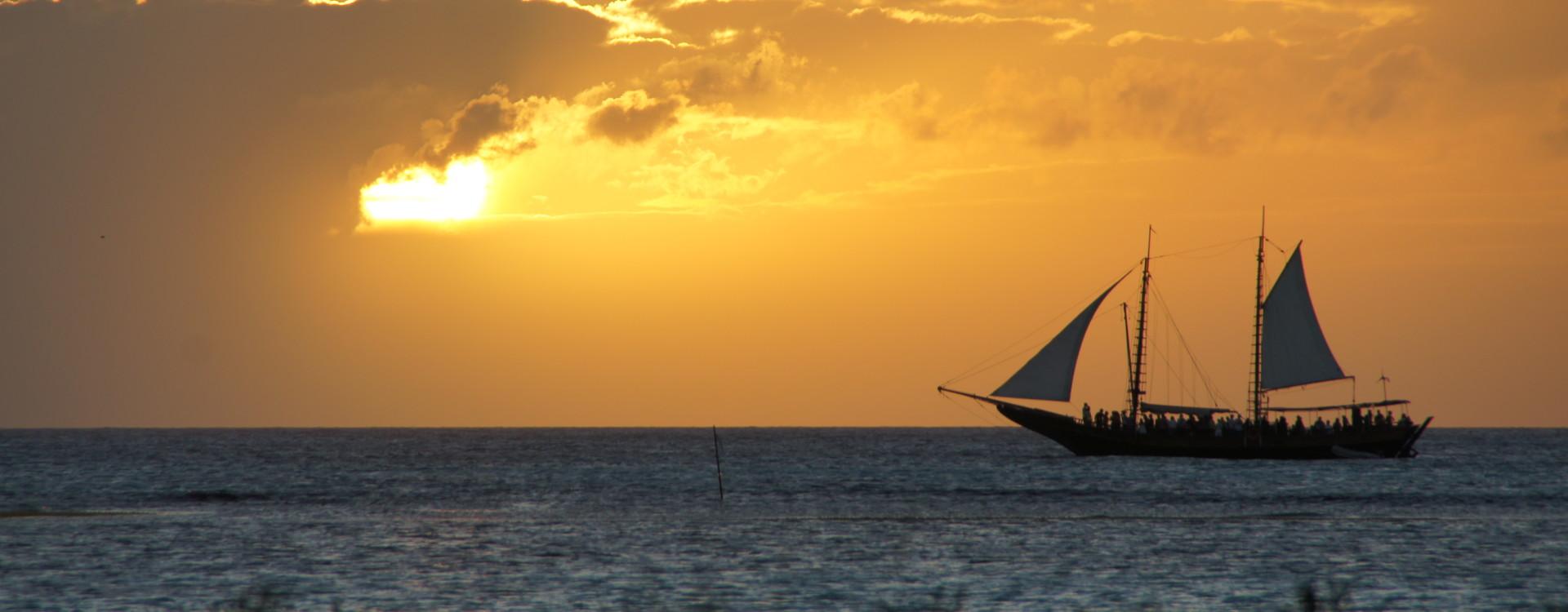 Malmok Coastline at Sunset